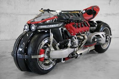 Lazareth LM 847 dengan mesin Maserati V8