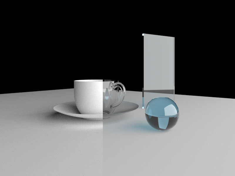 how to setting realistic glass in vray sketchup 2020