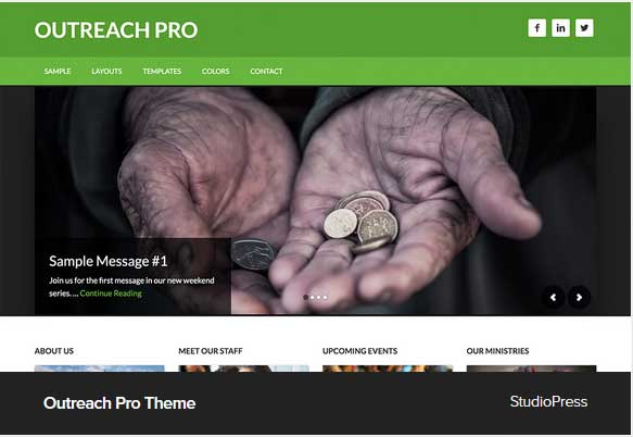 Outreach Pro Theme Award Winning Pro Themes for Wordpress Blog : Award Winning Blog