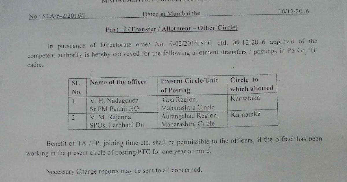 All India Association of IPs/ASPs (CHQ): Maharashtra