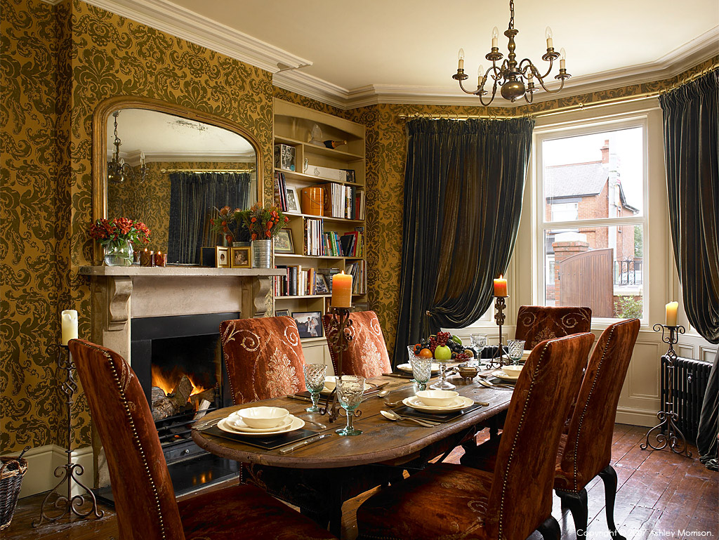 the edwardian period interiors comfortable home. Black Bedroom Furniture Sets. Home Design Ideas