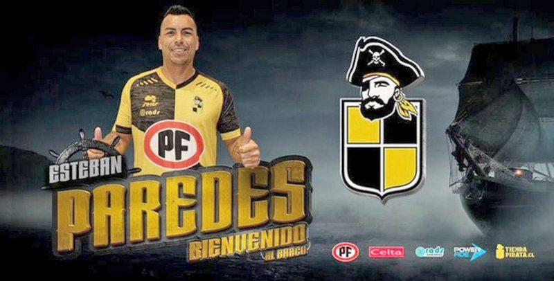 Coquimbo contrató a Esteban Paredes