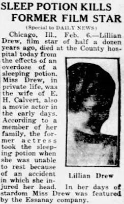 Lillian Drew Death