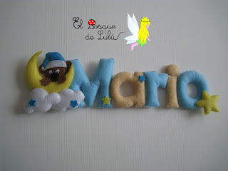 nombre-fieltro-felt-feltro-Mario-elbosquedelulu-hechoamanoparati-regalo-personalizado-babaroom-name-banner-detalle-nacimiento