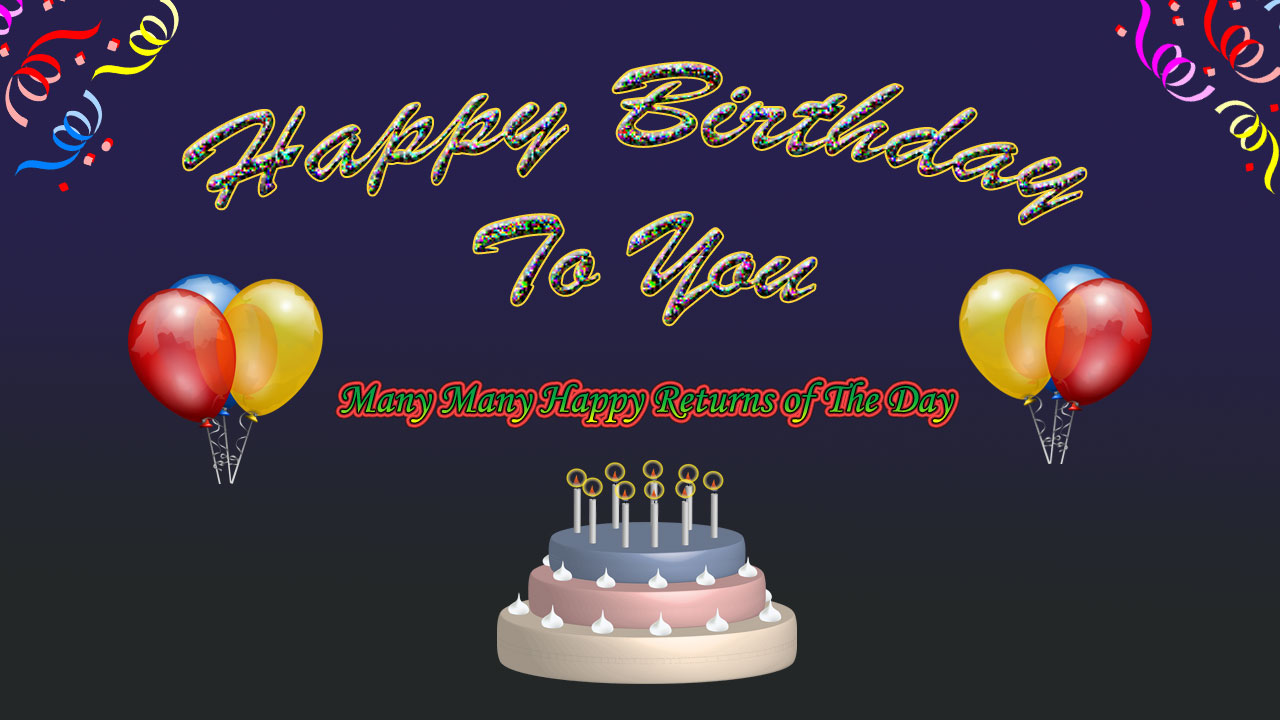 Beautiful Happy Birthday Wishes Images Hd Free Download 2020 Statusmessage In