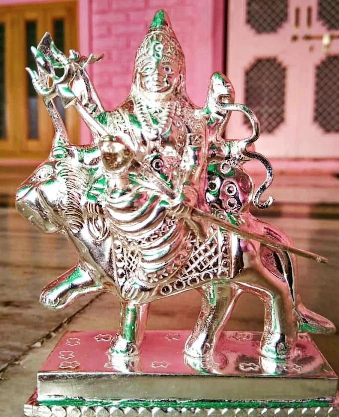 Maa durga Serawali Silver Murti | Fdbnj