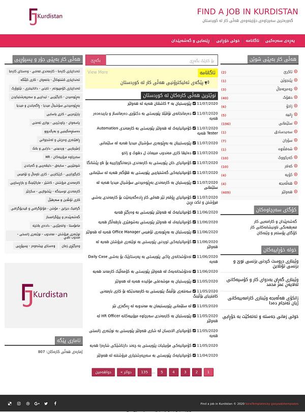 Find jobs in Kurdistan