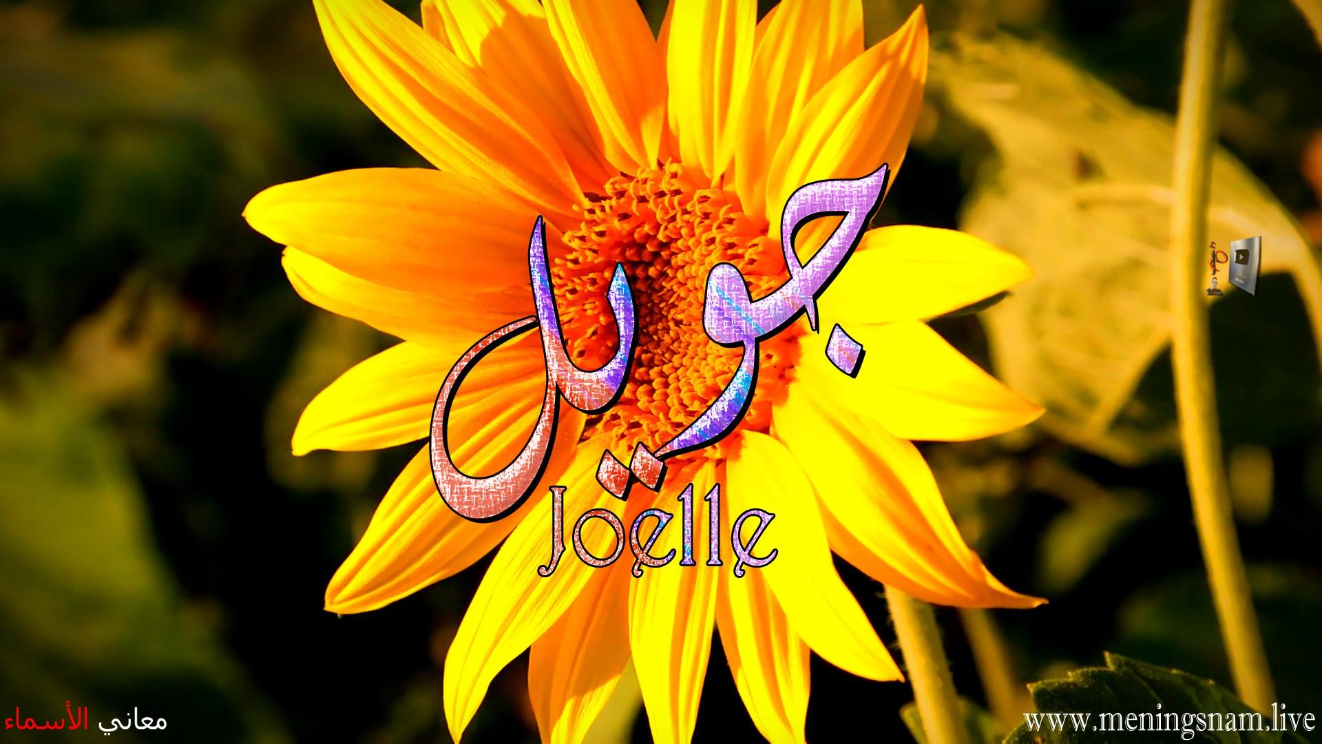 معنى اسم جويل وصفات حاملة و حامل هذا الاسم Joelle