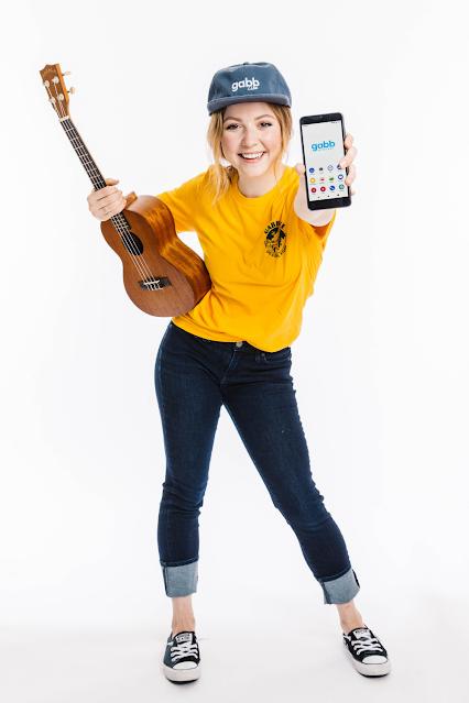 Teen Girl Cell Phone Ukulele