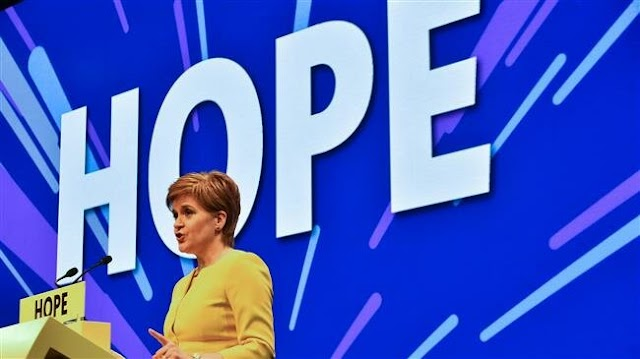 Scotland's First Minister Nicola Sturgeon publishes bill to set out independence referendum rules
