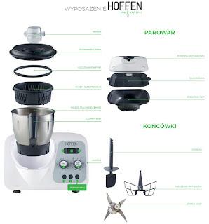 Wielofunkcyjny robot kuchenny Hoffen Chef Express z Biedronki