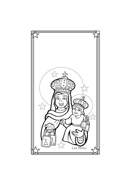 TARJETA: Nuestra Señora del Carmen