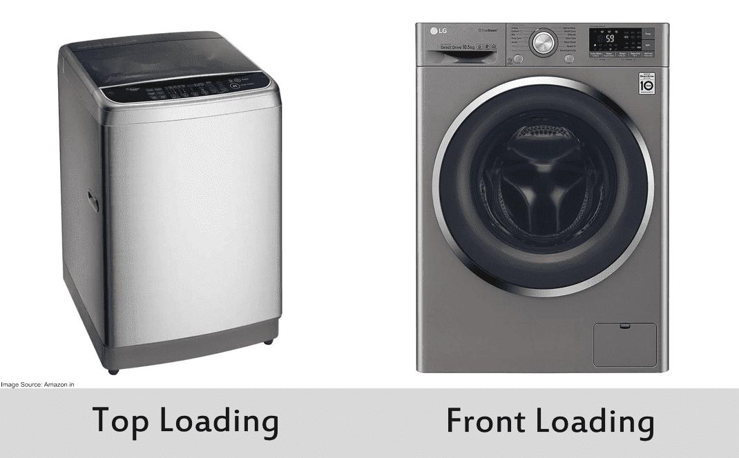 Front-Loading vs Top-Loading washing Machine.
