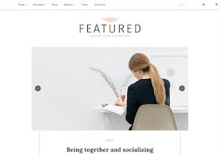 Featured Responsive Blogger Template Prremium Version