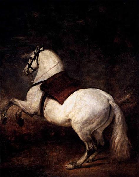 Диего Веласкес - Белый конь (1635)