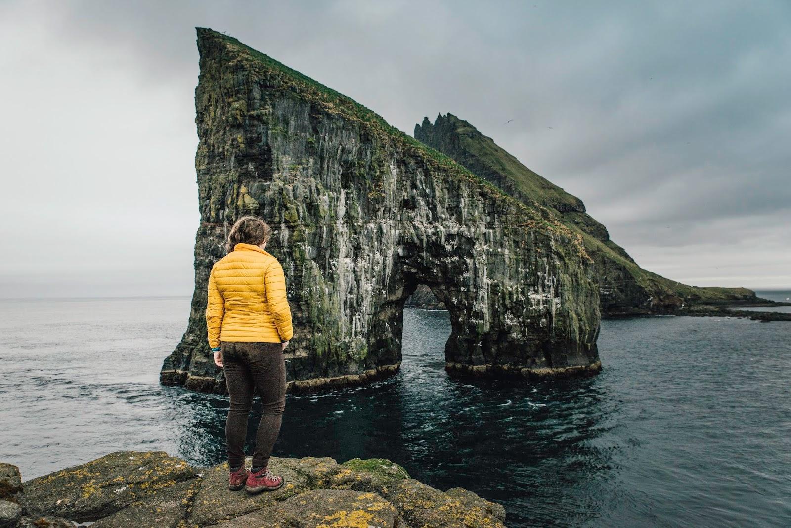 drangarnir sea stacks hike faroe islands liquid grain liquidgrain
