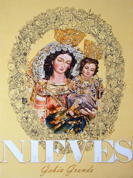 Cartel de Ntra. Sra. de la Nieves de Gabia Grande (Granada) 2021