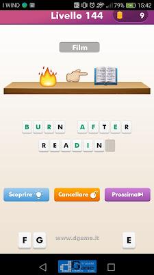 Emoji Quiz soluzione livello 144