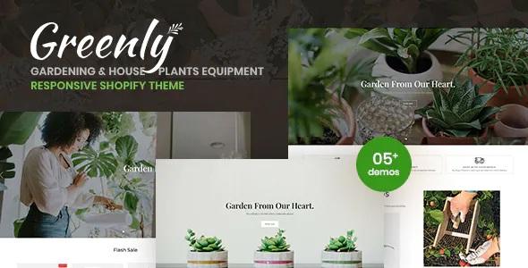 Best Gardening & Houseplants Equipment Responsive Shopify Theme