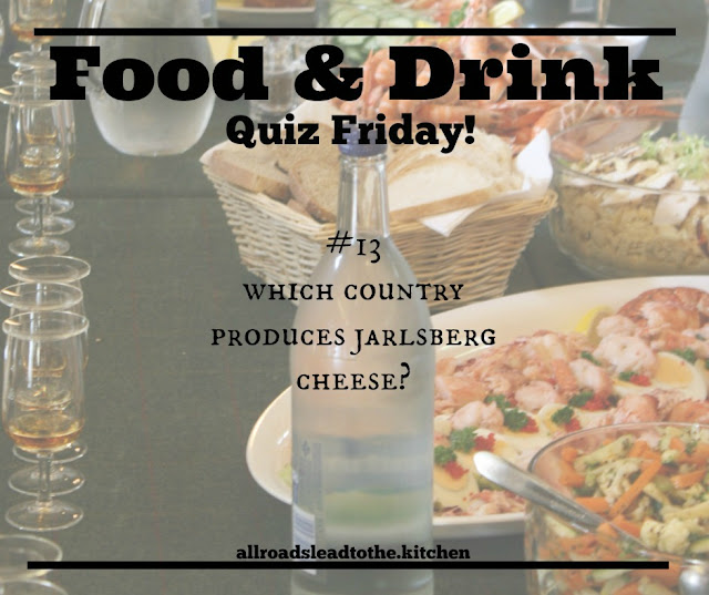 Food and Drink Quiz Friday #13: Which country produces Jarlsberg cheese?