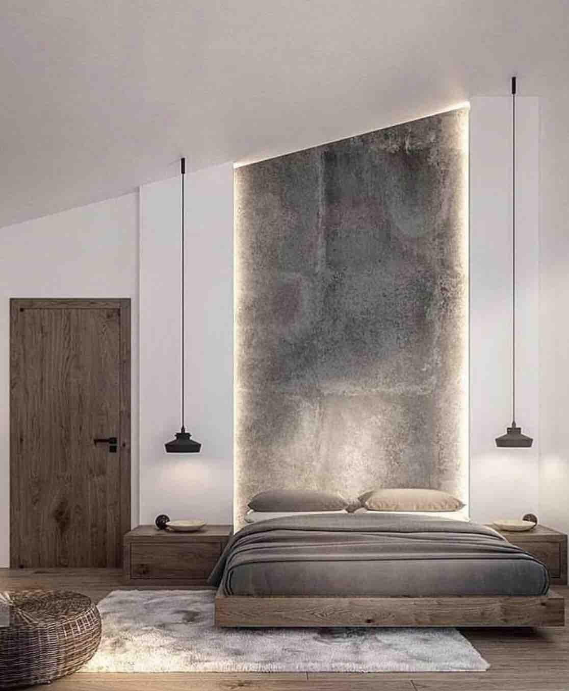 grey colors inspiration for bedroom design