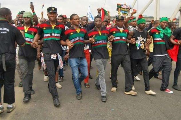 IPOB Declares Total Lockdown on 1st October, Orders Removal Of Nigerian Flags