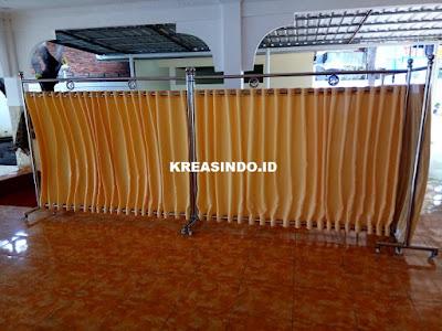 Hijab Masjid Stainless pesanan ke 2  Mako Lantamal III Jakarta