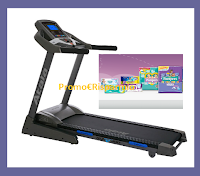 "Logo Concorso "" In Forma con Pampers'' : vinci 7 Atala Home Fitness Tapis Roulant ( 1300 euro ciascuno)"