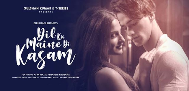Dil Ko Maine Di Kasam Lyrics-Arijit singh-Lyrics2021.com