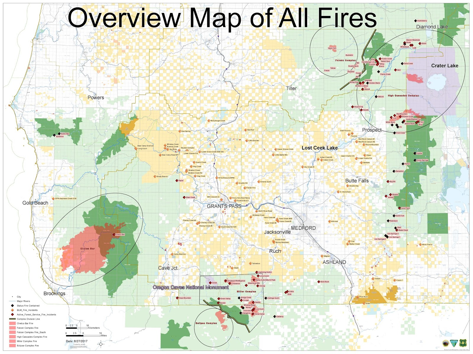 those three fires are the only ones for which this jic is providing information the daily jic summary is posted below the map