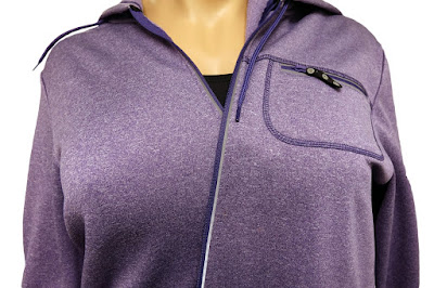 Plus Size Fleece Jacket