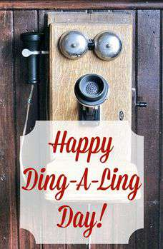 National Ding-A-Ling Day Wishes Lovely Pics