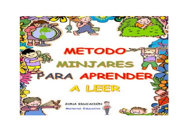 Aprender,leer,niños,juegos,dinamicas,metodo,minjares