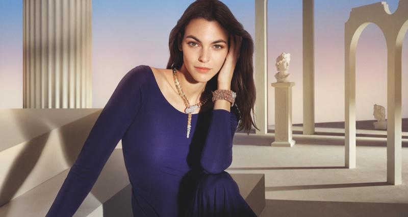 Vittoria Ceretti appears in Bulgari Magnifica 2021 campaign.