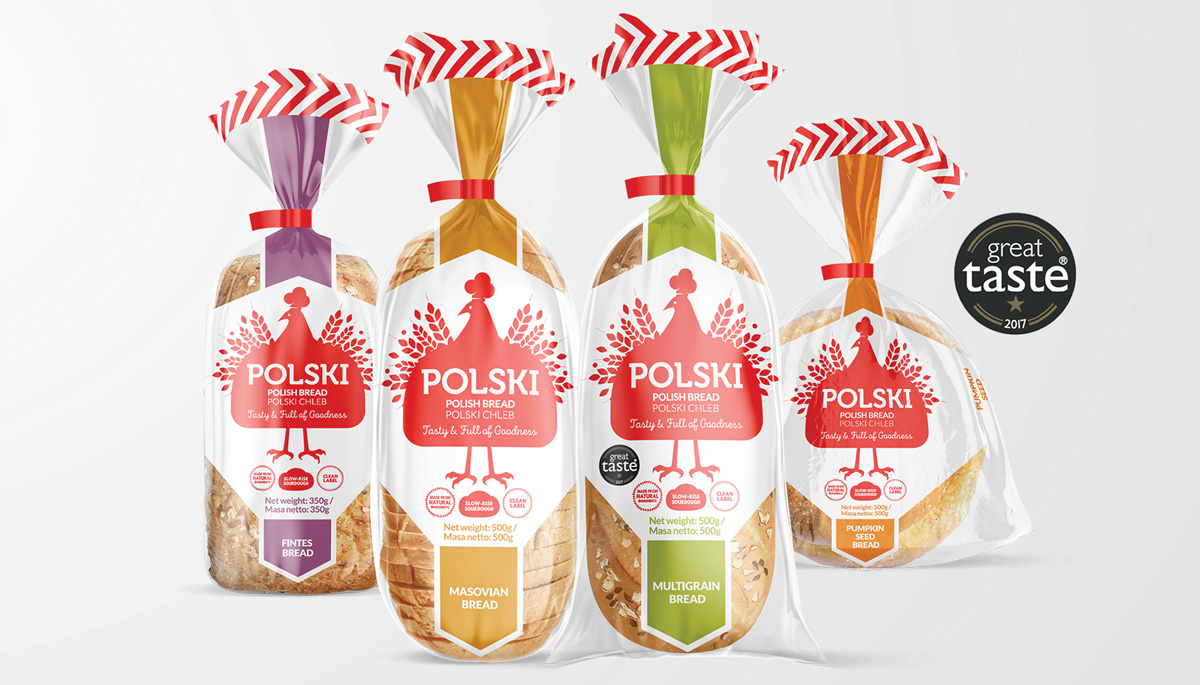 Polski Bread on Packaging of the World - Creative Package Design Gallery