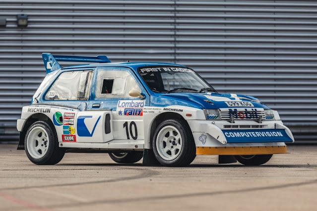 MG Metro 6R4 Rally Car For Sale