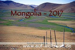 Calendar - Mongolia 2017