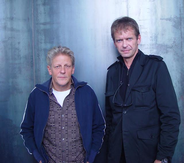 Jan Fabre & Klaus Guingand - 2008 - Anvers- Belgique. Jan Fabre studio © Muriel Bonel