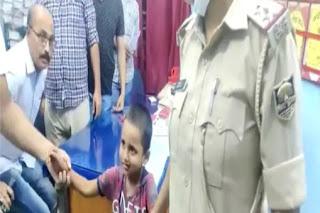 अगवा 4 साल के बच्चे को पुलिस ने चंद घंटों में सकुशल छुड़ाया, किडनैपर गिरफ्तार