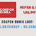 CouponDunia : Get Rs.50 Sign Up Bonus + Refer And Earn Rs.250  - Mission Techal