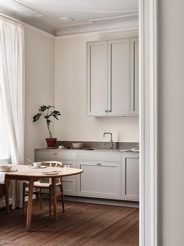 The Scandinavian Shaker Kitchen by Nordiska Kök