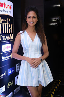Shanvi Looks super cute in Small Mini Dress at IIFA Utsavam Awards press meet 27th March 2017 116.JPG