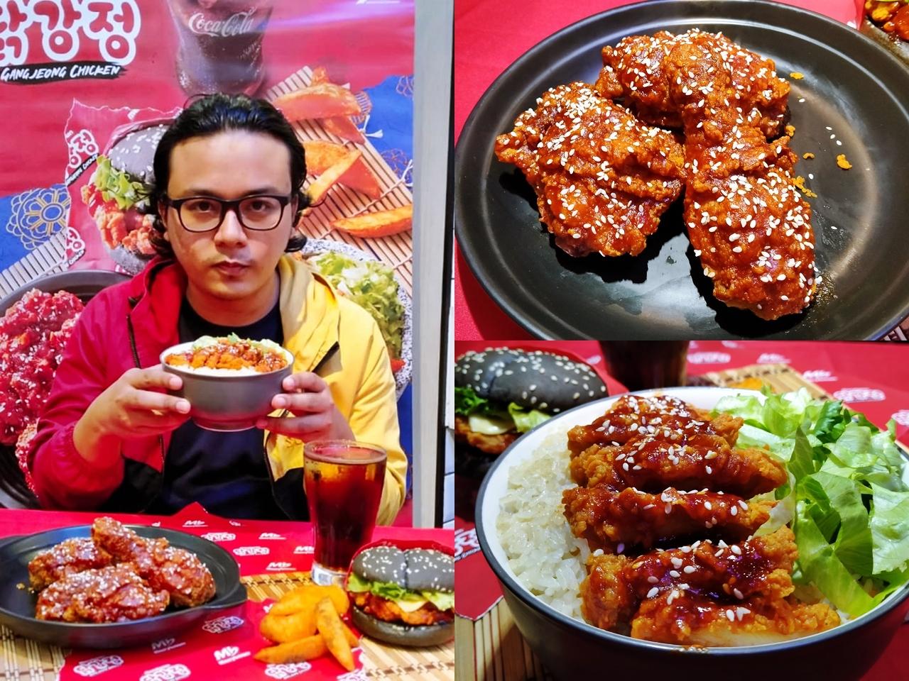 Ayam Ganjeong Menu Citarasa Korea Terbaru di Marrybrown