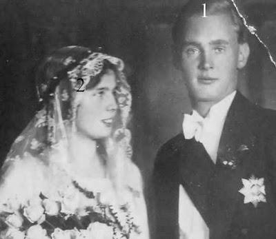 Caroline Mathilde de Saxe-Cobourg et Gotha et de Friedrich Wolfgang zu Castell-Rüdenhausen
