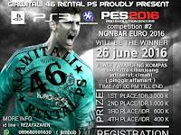 Kompetisi PES 2016 di Cimahi Juni 2016