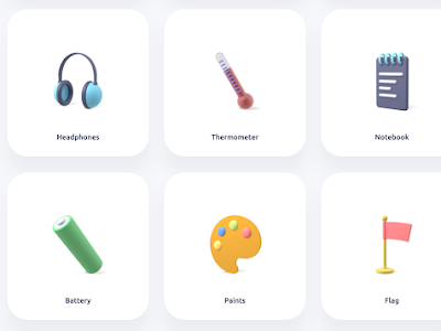Free 3D Icons to Use in Your Educational Projects and Presentations