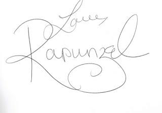 Rapunzel Disney Parks Autograph