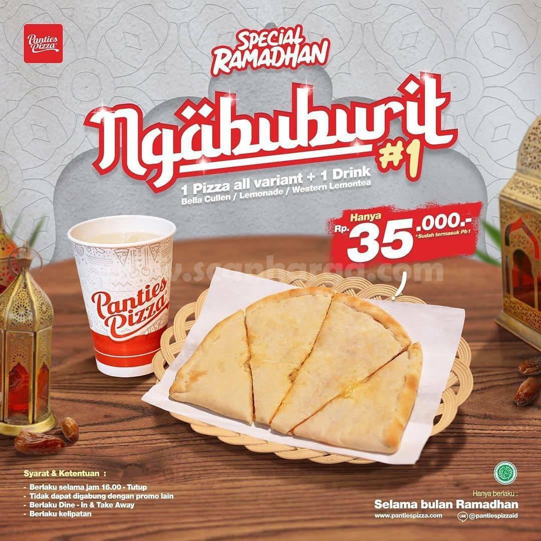 Panties Pizza Promo Special Ramadan - harga Paket Ngabuburit mulai 35K