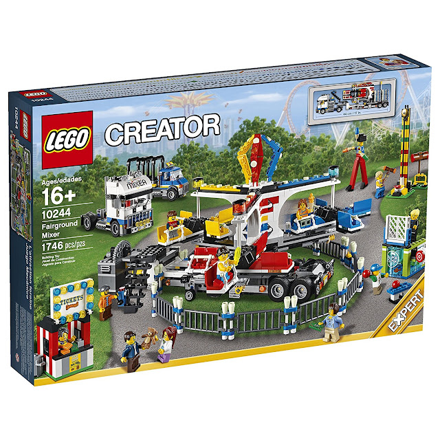 Walmart Toys For Girls And Boys Lego Creator Expert 10244