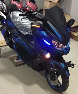 Nmax predator biru